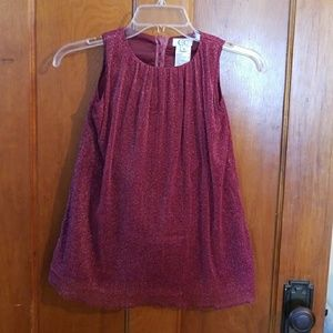 Girl's Sparkling Red dress